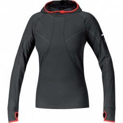 gore running wear maillot femme air lady noir