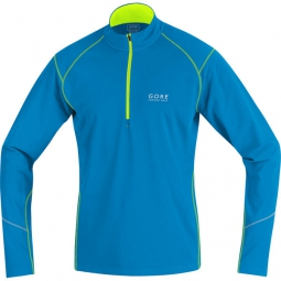gore running wear maillot essential bleu
