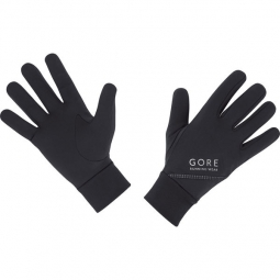 gore running wear paire de gants essential noir