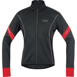 gore bike wear veste power 2 0 windstopper soft shell noir rouge