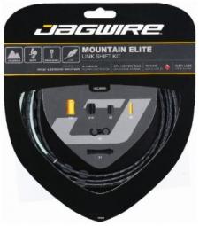 jagwire kit complet cables gaines mountain elite link derailleurs noir
