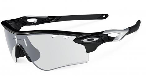 oakley lunettes radarlock path polished black clear black iridium photochromic ref o