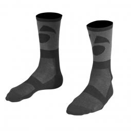bontrager 2015 chaussettes laine race 18cm noir