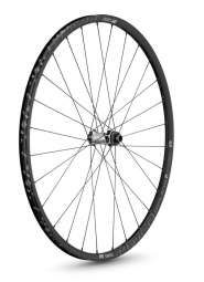 dt swiss 2015 roue avant m1700 spline two 29 axe 15mm noir blanc