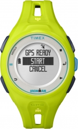 timex montre ironman run x20 gps jaune