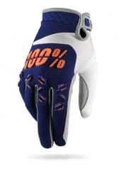 100 paire de gants airmatic bleu orange