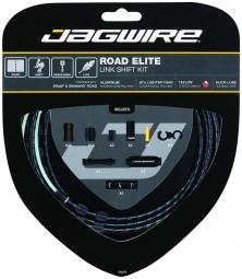 jagwire kit complet cables gaines road elite link derailleurs noir