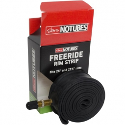 notubes fond de jante tubeless freeride 26 27 34 mm schrader