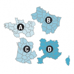 bryton carte topo france nord ouest 1 25000