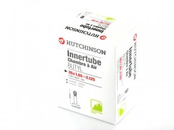 hutchinson chambre a air butyl 26x1 85 2 125 valve schrader