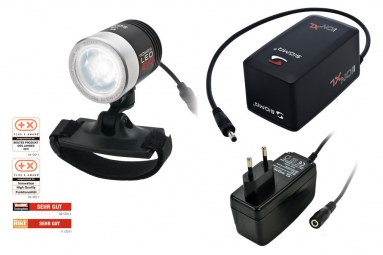 sigma lampe avant kit powerled evo pro support casque