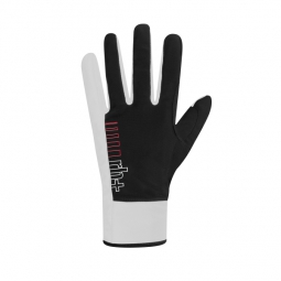 zero rh paire de gants longs fuego noir blanc