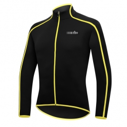 zero rh maillot manches longues prime noir jaune