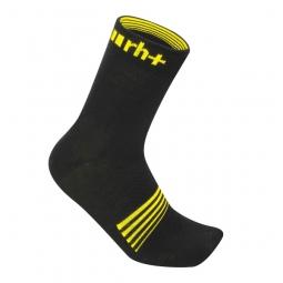 zero rh paire de chaussettes vertex noir jaune