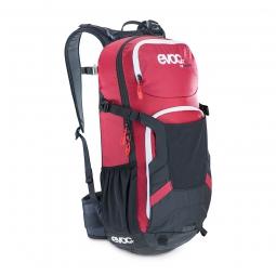 evoc sac a dos protector enduro 16l noir rouge