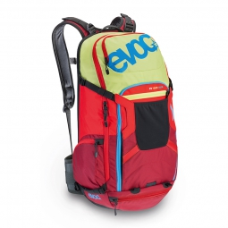 evoc sac protector tour team 30l citron rouge ruby