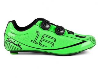 chaussures route spiuk 16rc 2015 vert