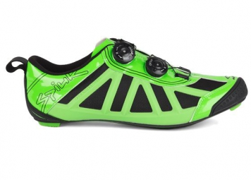 spiuk 2015 paire de chaussures triathlon pragma vert
