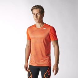 adidas t shirt adizero orange homme