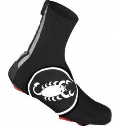 castelli paire de couvre chaussures diluvio 16 scorpion blanc