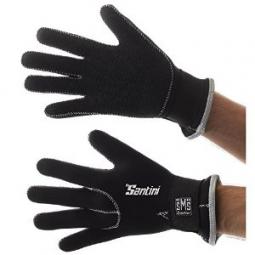 santini paire de gants blast neoprene noir