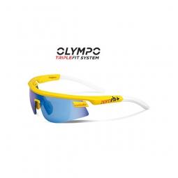 zero rh lunettes olympo triple fit contador jaune