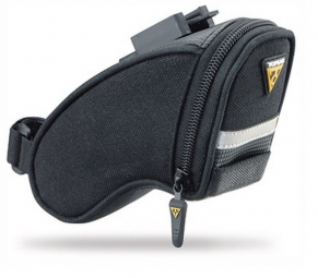 topeak sacoche de selle aero wedge pack micro quickclic