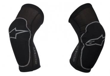 alpinestars paire de genouilleres paragon noir