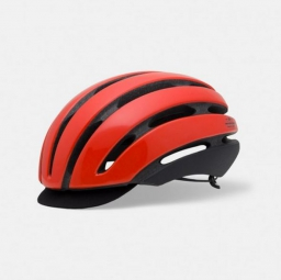 casque giro aspect rouge