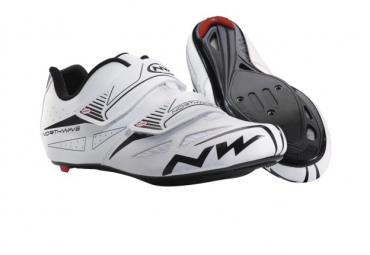chaussures route northwave jet evo blanc