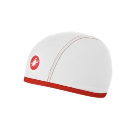 castelli sous casque thermo skully blanc