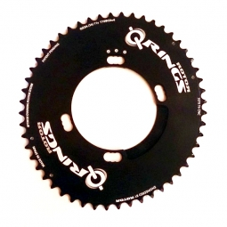 rotor plateau route q rings exterieur 110mm pour shimano 4 branches 110mm