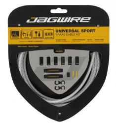 jagwire kit freins universal sport blanc