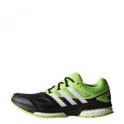adidas chaussures response boost noir vert homme