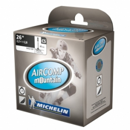 michelin chambre a air aircomp mountain 26x2 2 2 8 presta