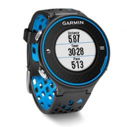 garmin montre de running gps forerunner 620 noir bleu ceinture cardiaque