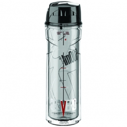 elite bidon vero thermique 500ml transparent