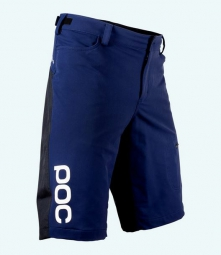 poc short flow bleu fonce