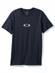 oakley t shirt ellipse me bleu marine