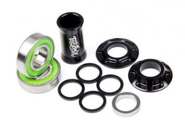 total bmx boitier de pedalier mid 19mm noir