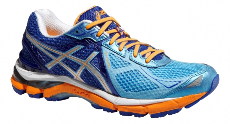 asics chaussures gt 2000 3 bleu orange femme