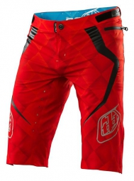 troy lee designs short ace elite rouge