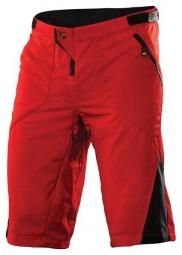 troy lee designs short ruckus twill rouge