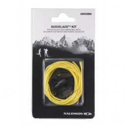 salomon quicklace kit jaune