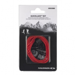 salomon quicklace kit rouge