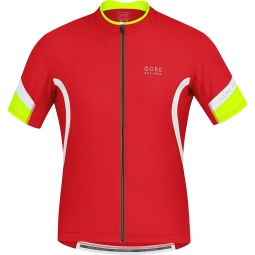 gore bike wear 2015 maillot power 2 0 rouge
