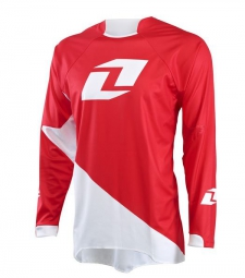 one industries 2015 maillot manches longues gamma solid rouge blanc