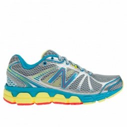new balance chaussures w 780v4 b argent turquoise femme