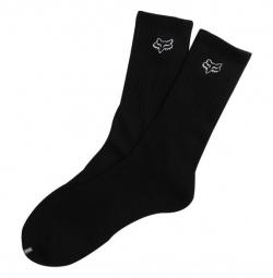 fox paire de chaussettes crew noir