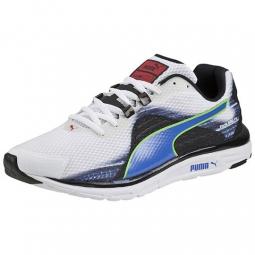 puma chaussures homme faas 500 v4 blanc bleu